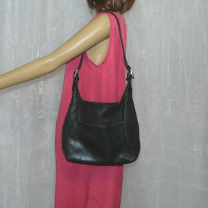 Coach Legacy Black Leather Hobo Bag KOD-90